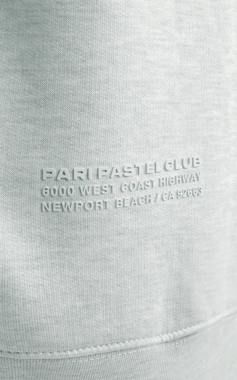 MINT PASTEL CLUB CREWNECK - PARI USA , Wearepari, Paul Ripke, pari swim club, Newport Beach, pari