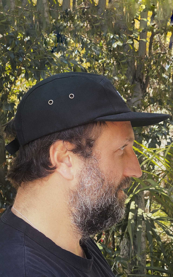 BLACK FIVE PANEL CAP PARI NEWPORT BEACH - PARI USA , Wearepari, Paul Ripke, pari swim club, Newport Beach, pari