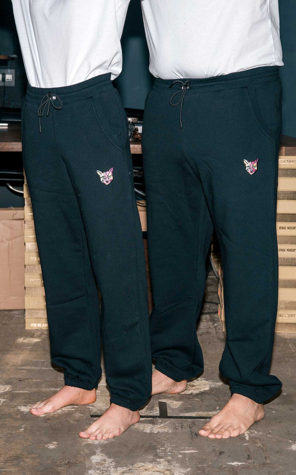 BLACK SWEATPANTS CAT - PARI USA , Wearepari, Paul Ripke, pari swim club, Newport Beach, pari