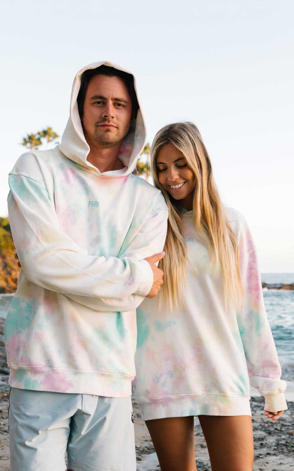 HIPPIE CLUB HOODIE - PARI USA , Wearepari, Paul Ripke, pari swim club, Newport Beach, pari