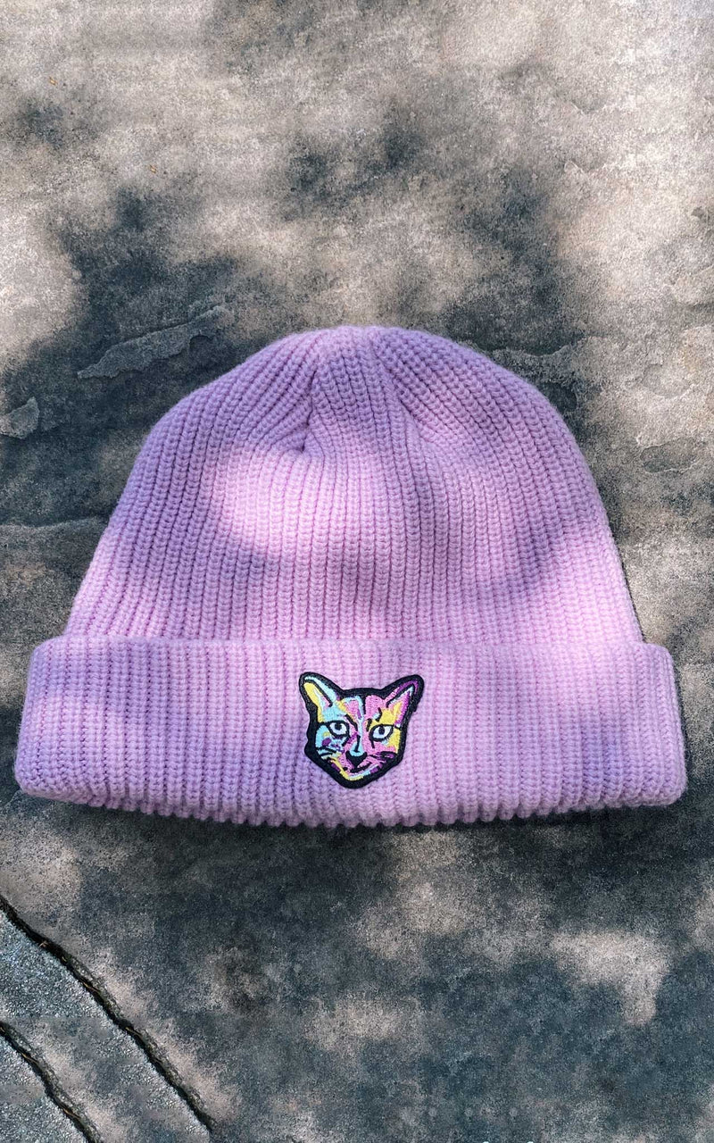 LILAC BEANIE CAT - PARI USA , Wearepari, Paul Ripke, pari swim club, Newport Beach, pari