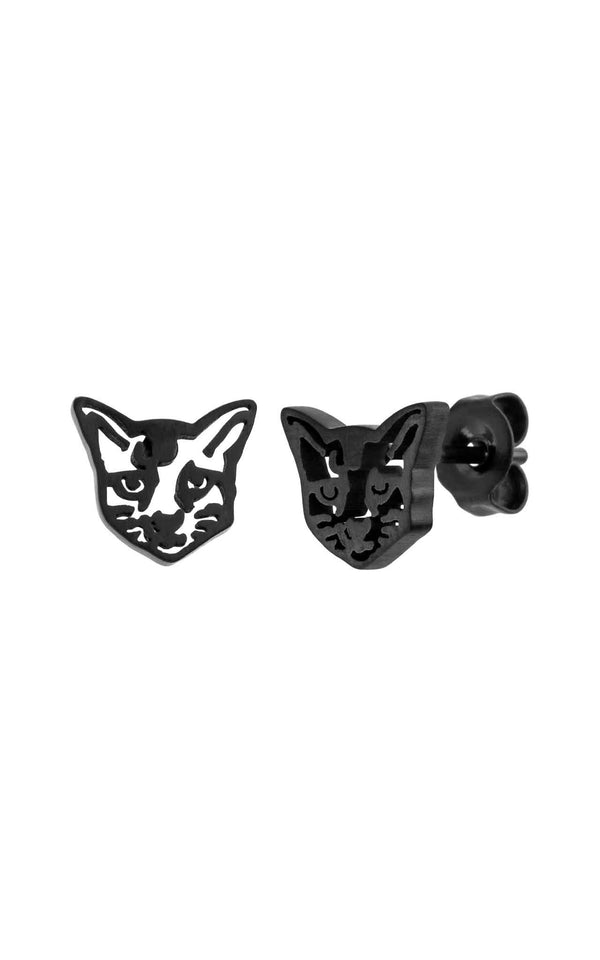 BLACK PURELEI X PARI EARRING CAT - PARI USA