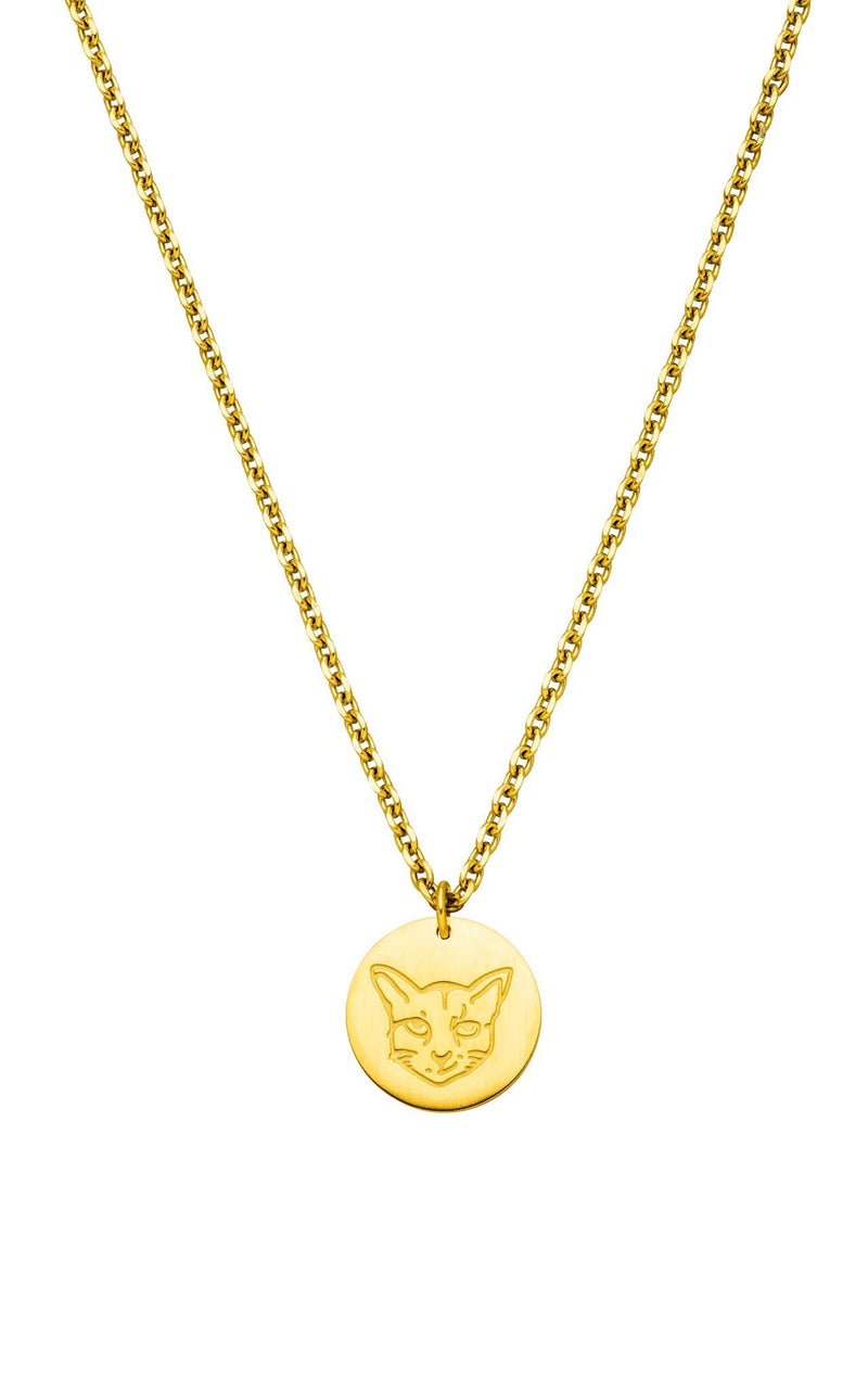 GOLD PURELEI X PARI NECKLACE COIN - PARI USA