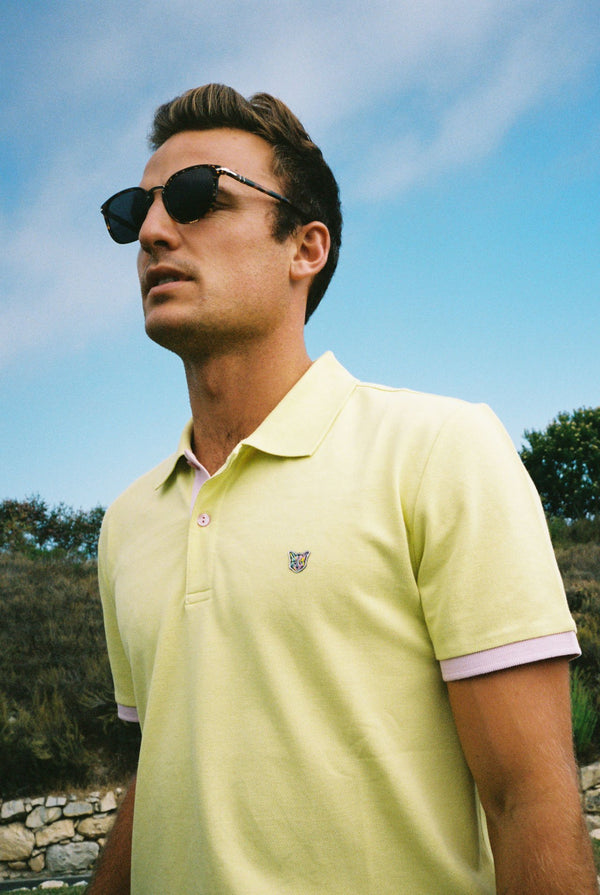 LEMONHAZE GOLF CLUB POLO SHIRT - PARI USA , Wearepari, Paul Ripke, pari swim club, Newport Beach, pari