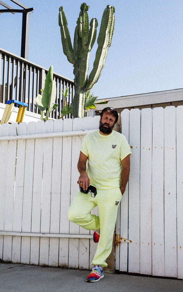 LEMONHAZE SWEATPANTS CAT - PARI USA , Wearepari, Paul Ripke, pari swim club, Newport Beach, pari