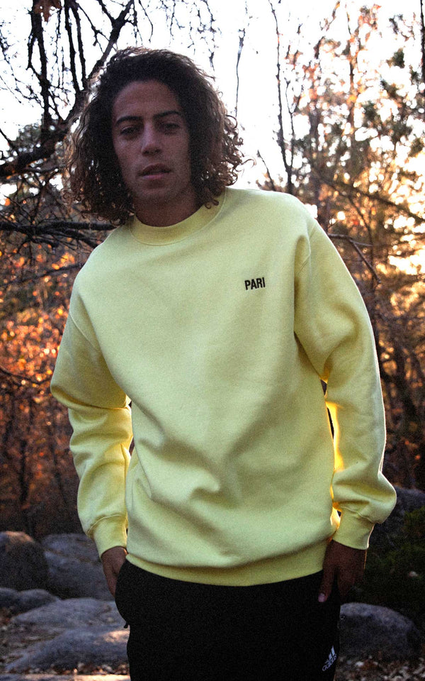 LEMONHAZE SWEATSHIRT PARI - PARI USA , Wearepari, Paul Ripke, pari swim club, Newport Beach, pari