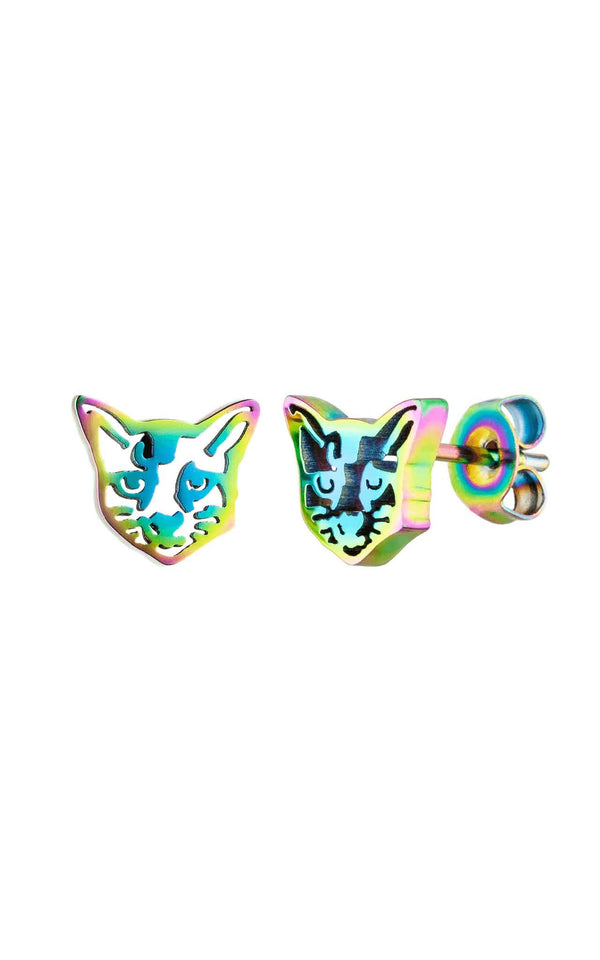 RAINBOW PURELEI X PARI EARRING CAT - PARI USA
