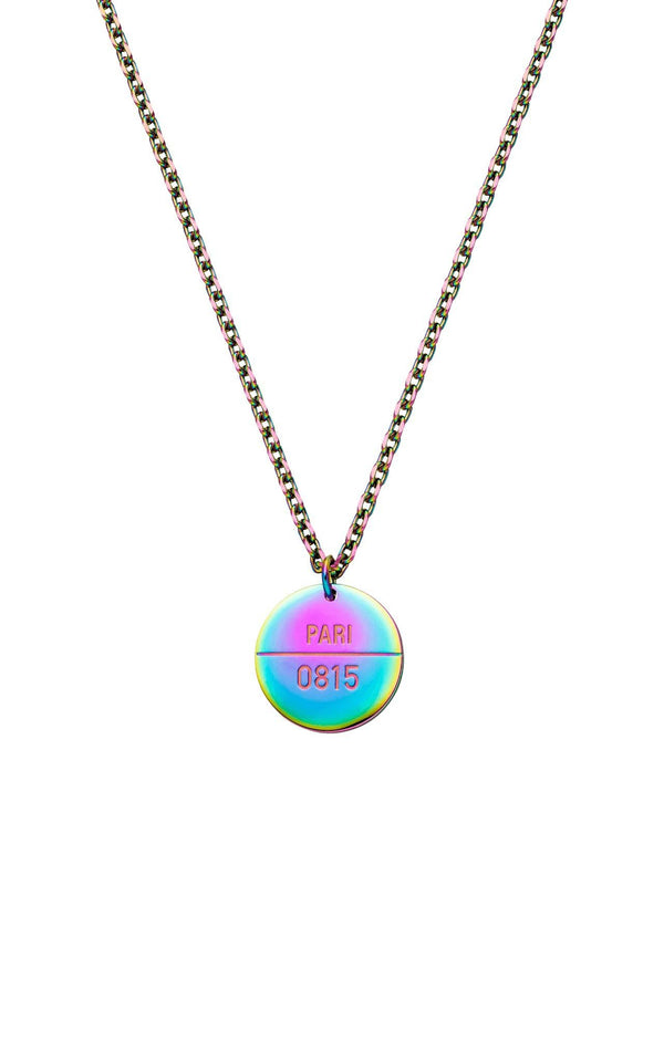 RAINBOW PURELEI X PARI NECKLACE COIN - PARI USA