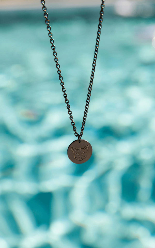 BLACK PURELEI X PARI NECKLACE COIN - PARI USA
