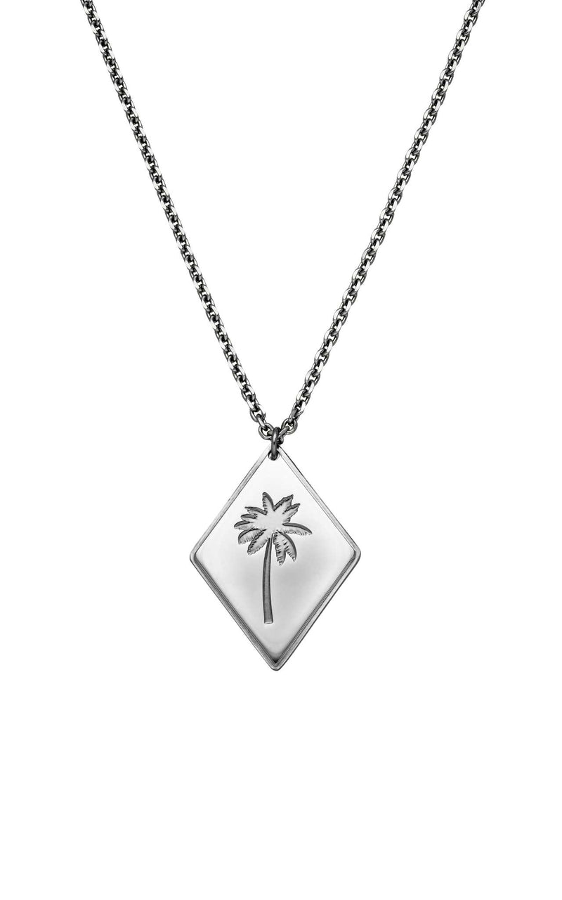 SILVER PURELEI X PARI NECKLACE PALM TREE - PARI USA