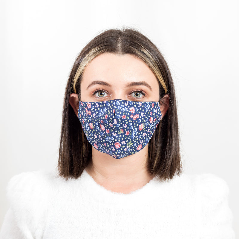 Colorful Face Mask 15 | Washable and Reusable Protecting Face for Adults - Currved