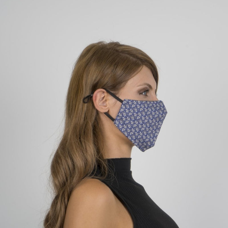 Colorful Face Mask 04 | Washable and Reusable Protecting Face for Adults - Currved