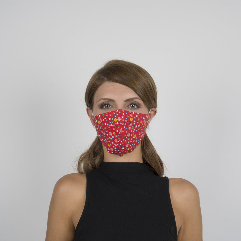 Colorful Face Mask 07 | Washable and Reusable Protecting Face for Adults - Currved