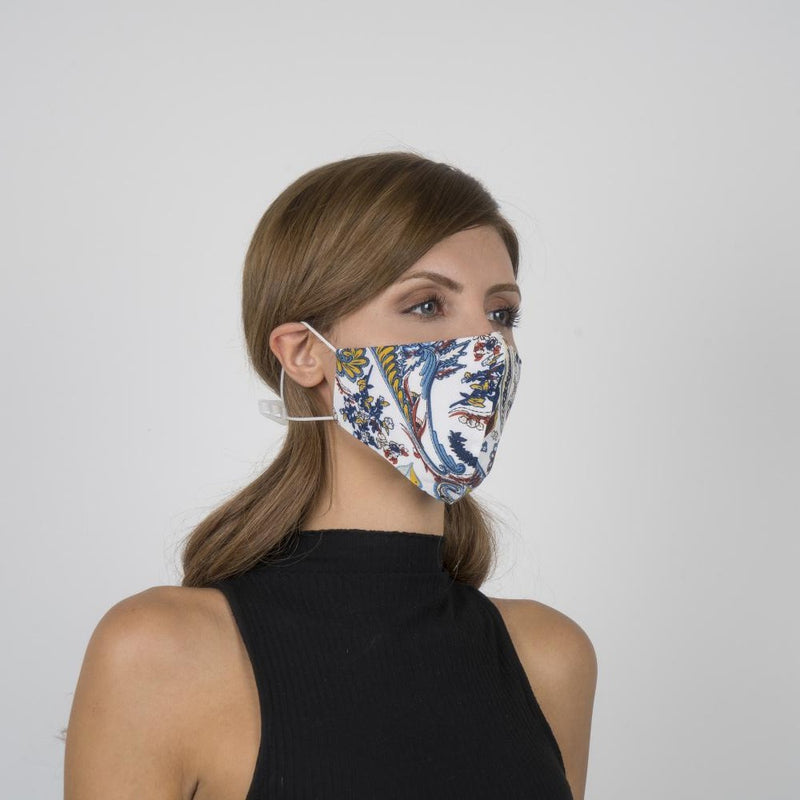 Colorful Face Mask 08 | Washable and Reusable Protecting Face for Adults - Currved