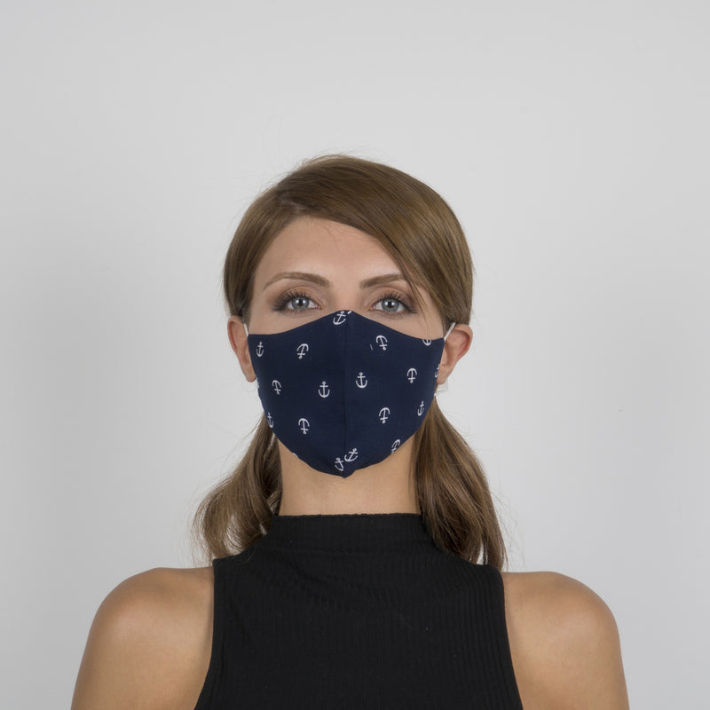 Colorful Face Mask 09 | Washable and Reusable Protecting Face for Adults - Currved