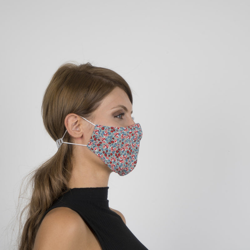 Colorful Face Mask 11 | Washable and Reusable Protecting Face for Adults - Currved
