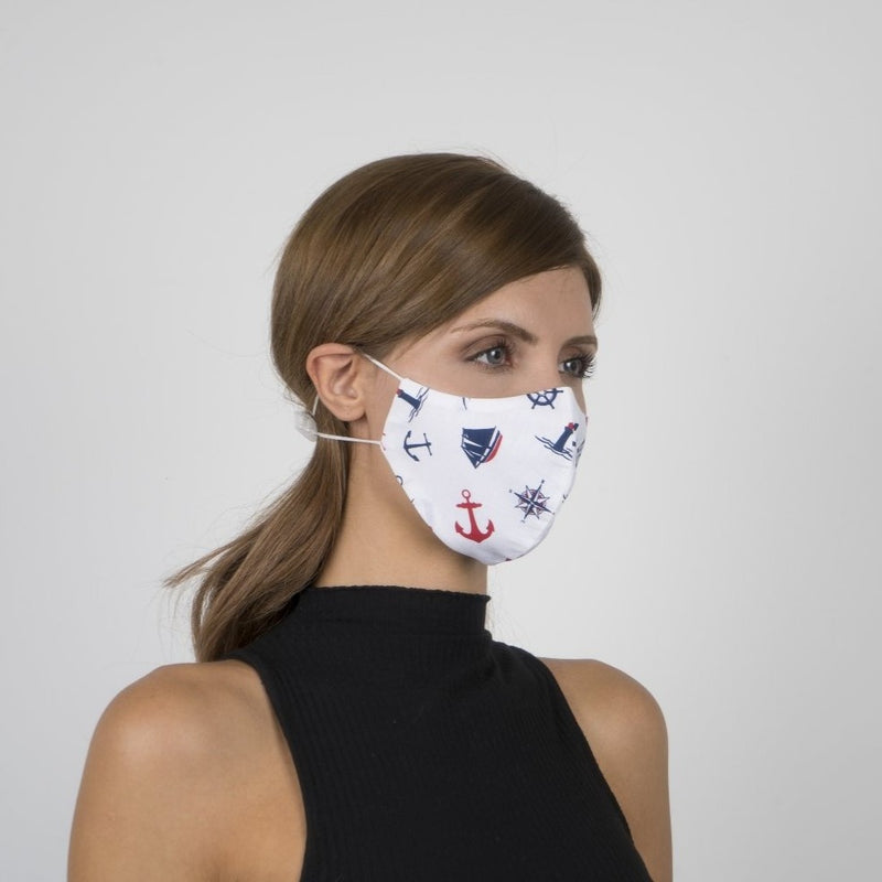 Colorful Face Mask 12 | Washable and Reusable Protecting Face for Adults - Currved