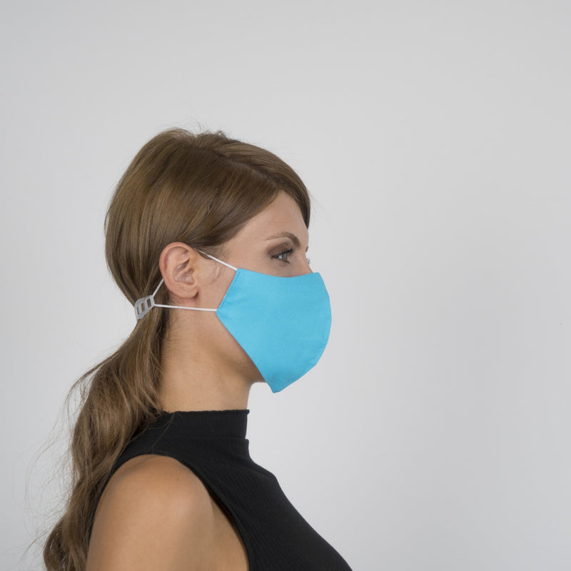 Colorful Face Mask 14 | Washable and Reusable Protecting Face for Adults - Currved