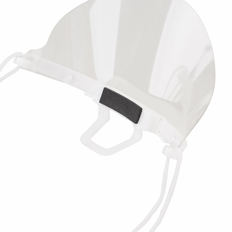 Face Mouth Shield | Face Mouth Guard White - Currved