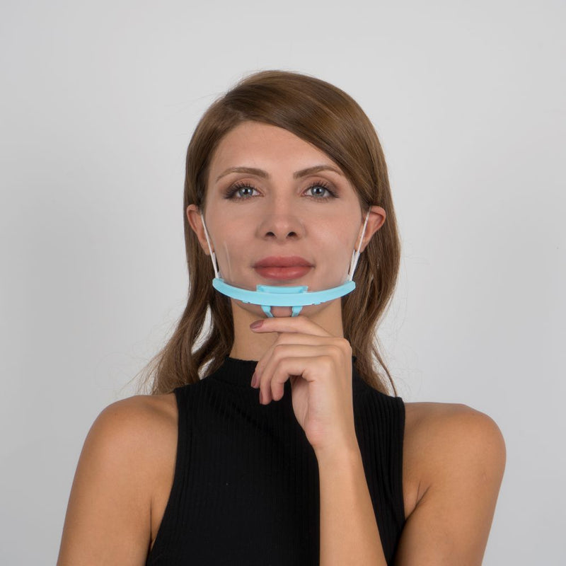 Face Mouth Shield | Face Mouth Guard Green - Currved