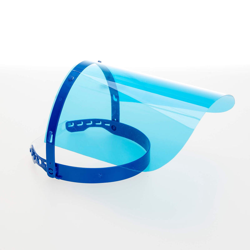 Magic Visors Colored | Face Shield Colored | Blue - Currved