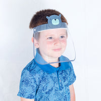 Magic Visors Face Shield for Kids Grey - Currved