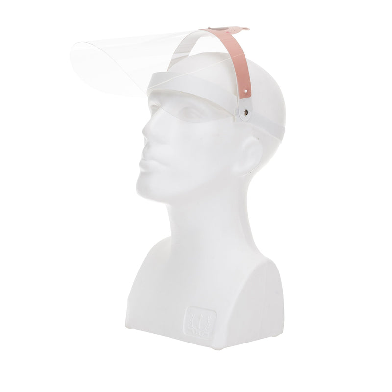 Magic Visors Face Shield for Kids Pink 2 - Currved