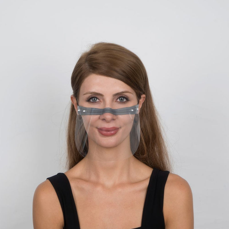 Nosty Face Shield  - Grey - Currved