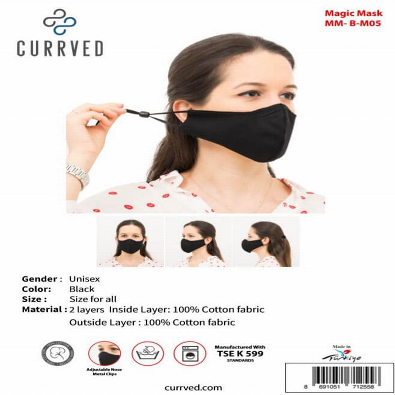Magic Masks 05 | Face Mask - Currved