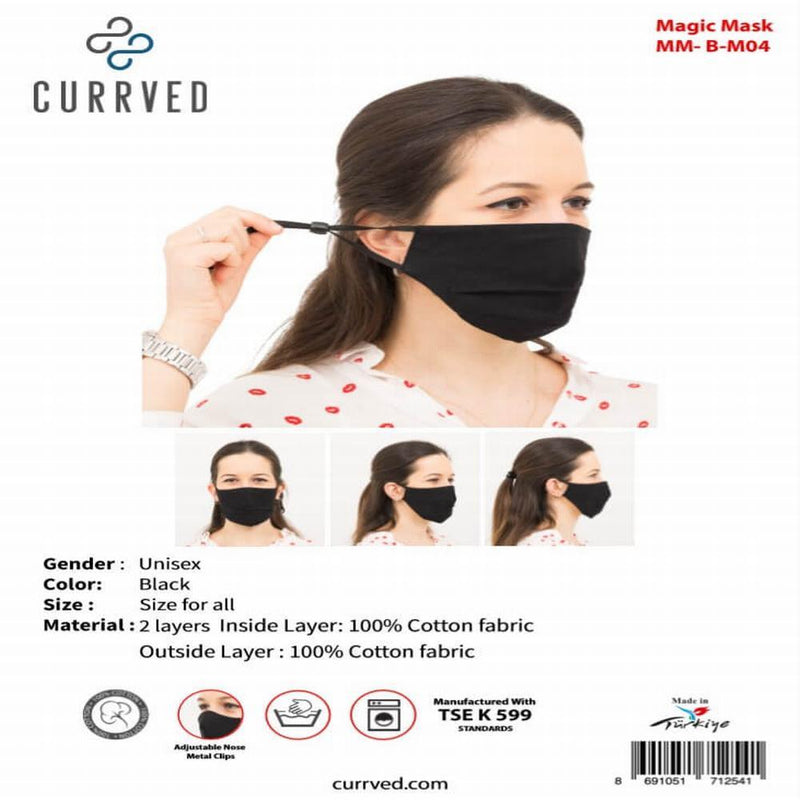 Magic Masks 04 | Face Mask - Currved