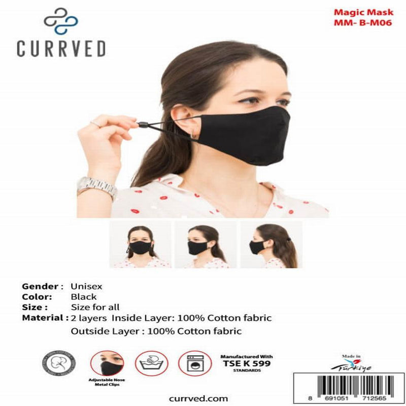 Magic Masks 06 | Face Mask - Currved