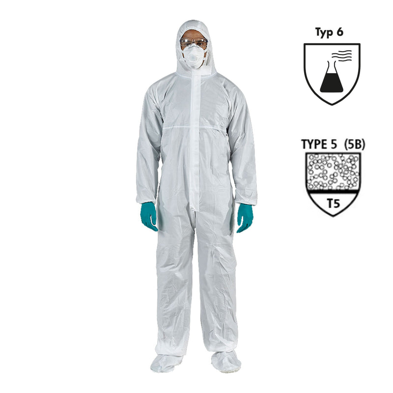Currmed | Laminated Coverall Non-Sterile 56 Gr - Currved