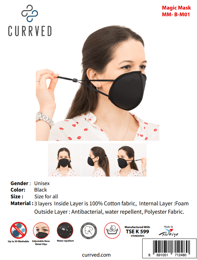Magic Masks 01 | Face Mask - Currved