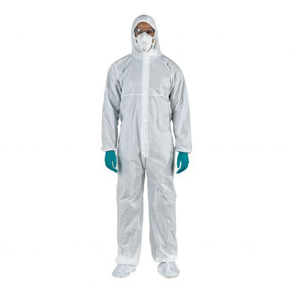Currmed | Laminated Coverall Non-Sterile 50 Gr - Currved