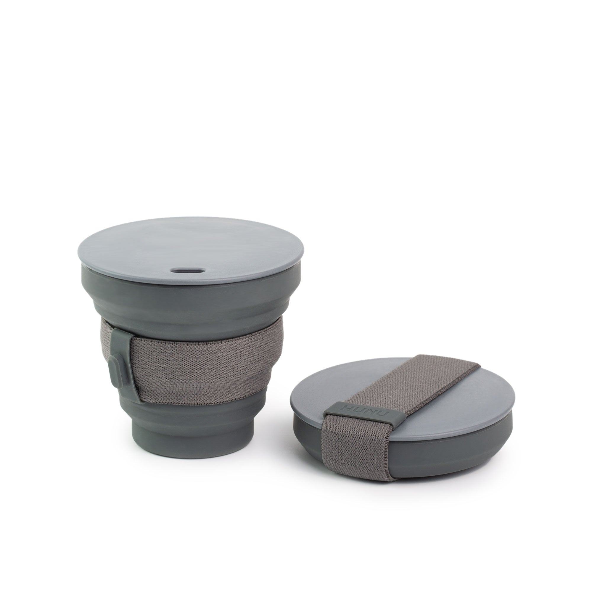 HUNU - The Pocket Sized Cup in Charcoal