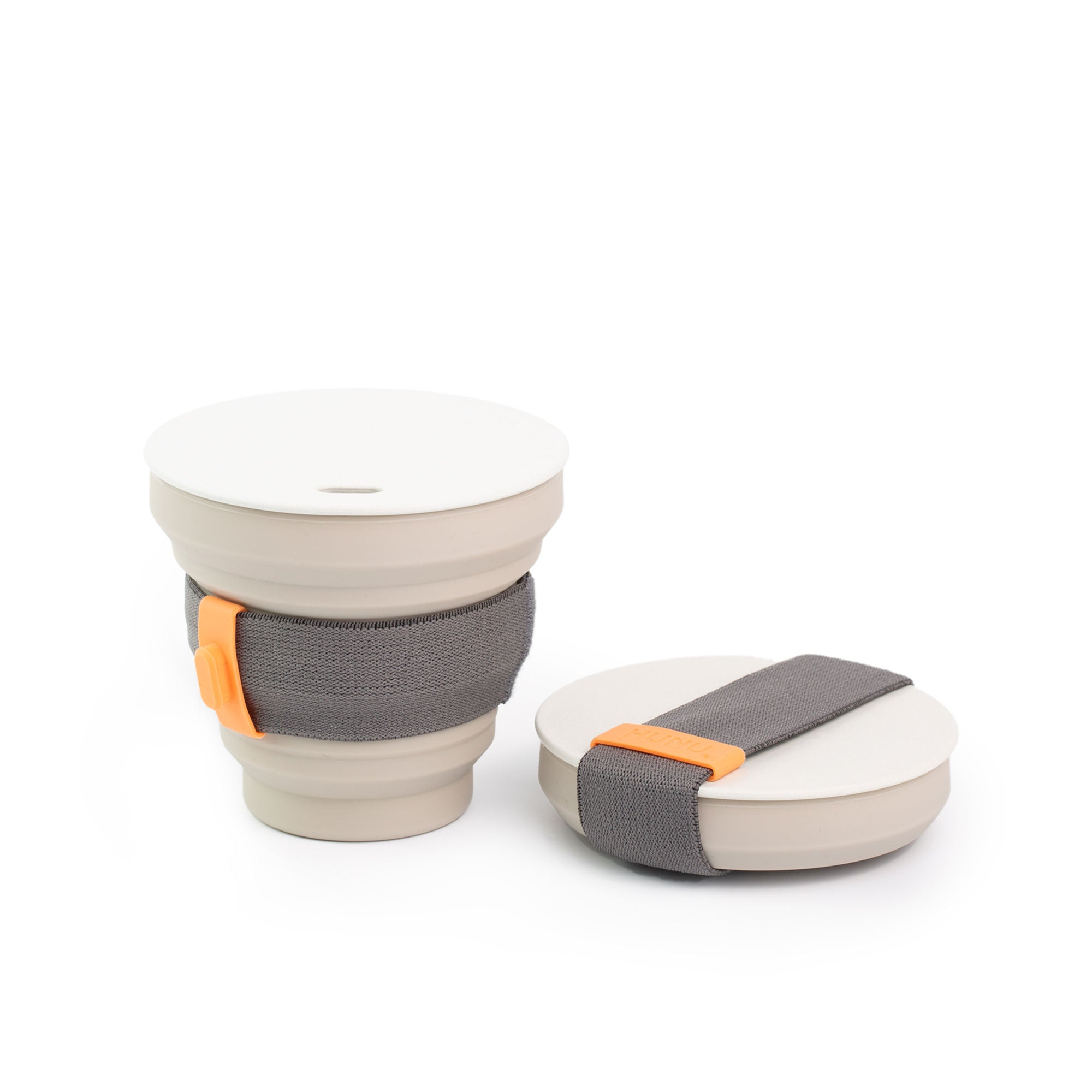 HUNU - The Pocket Sized Cup in Grey