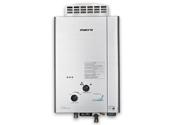 MA-8NFL Gas Water Heater - Citygas Singapore