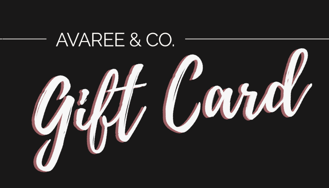Avaree & Co. Gift Cards