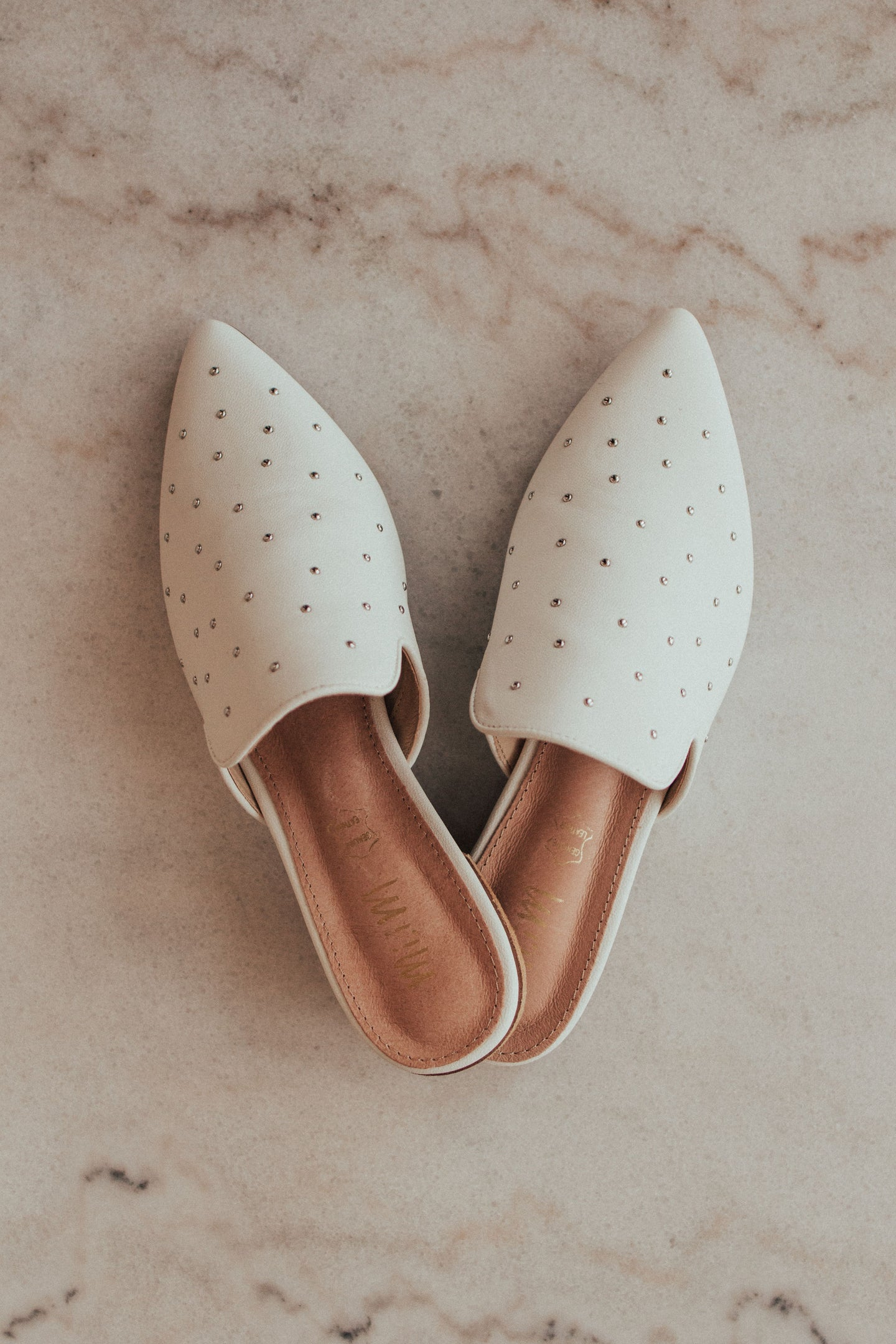 Daisy Studded Mules