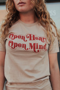 Open Heart Open Mind Tee