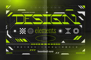 Abstract design elements collection