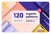 Organic patterns bundle - 120 textures and brushes