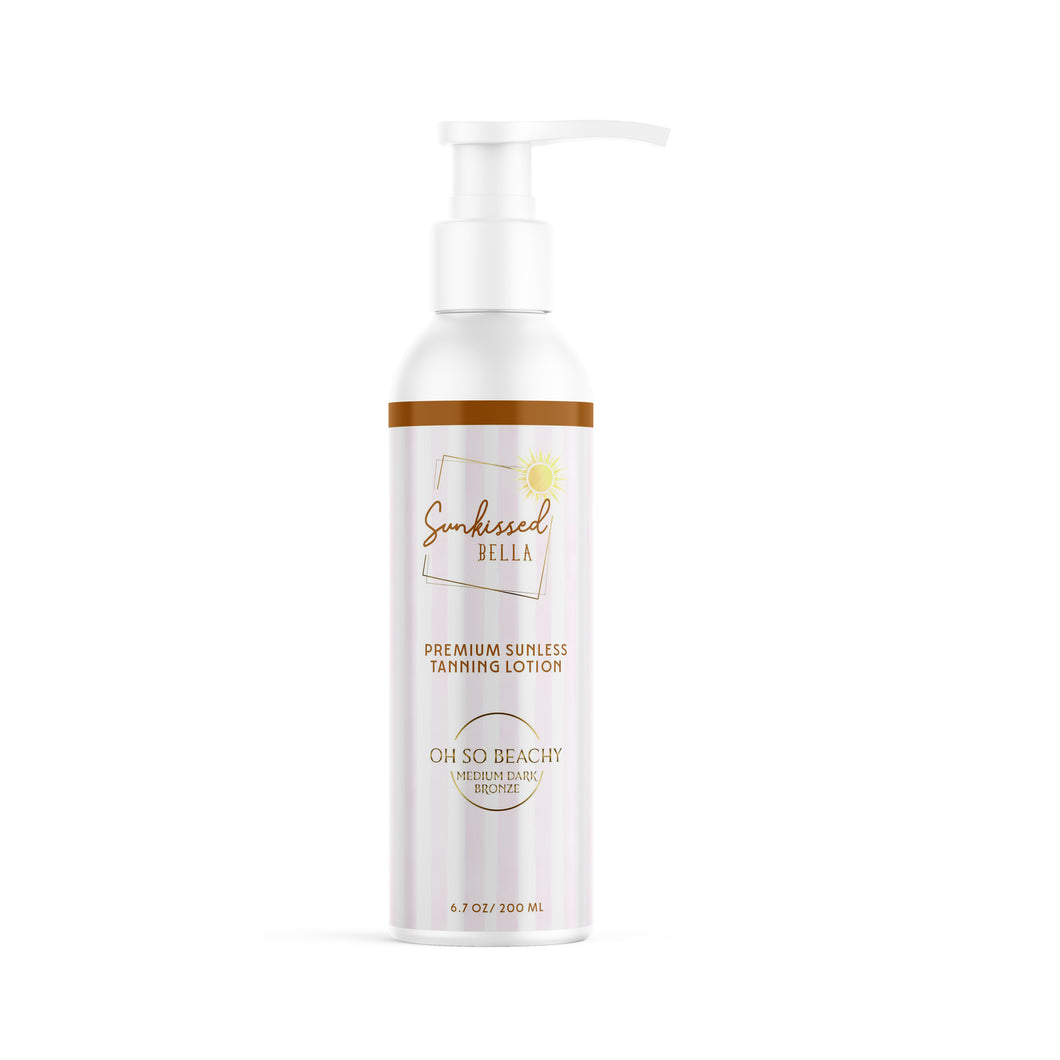 Oh So Beachy Self Tan Lotion (Medium-Dark)