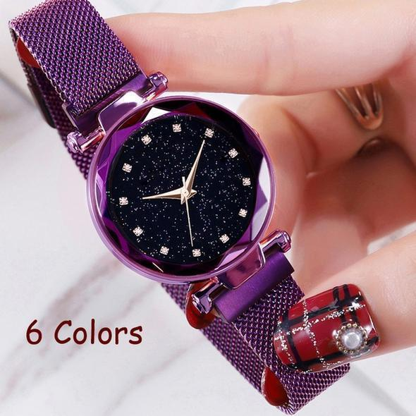 Duty-Free-Shop 70% OFF Six Colors Starry Sky Watch Perfect Gift Idea(Buy 3 Get 1 Free!)