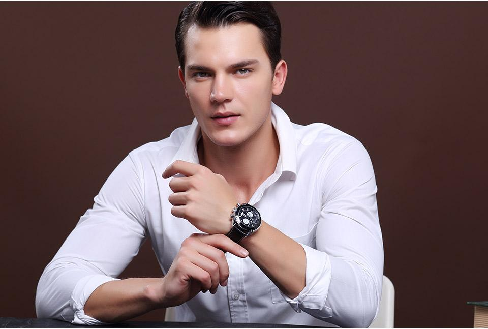 Last Day Promotion-Men's waterproof quartz watch