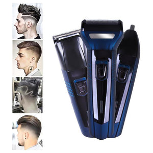 Sk-6011 Three-in-One Multi-functional Shaver/Hair Clipper/Nose Hair Trimmer/Household Electric Fader/Shaver