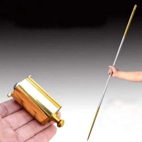 Staff Portable Martial Arts Metal Magic Pocket Bo Staff