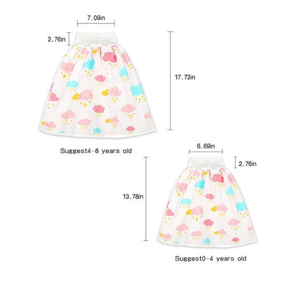 Comfy children's adult diaper skirt shorts 2 in 1(Last day offer)