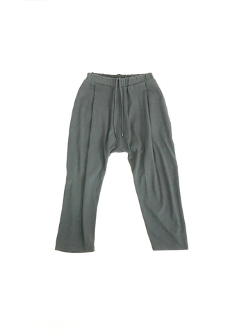 WILLY CHAVARRIA / BUFFALO PANTS charcoal。正面画像。