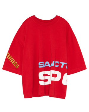 WILLY CHAVARRIA / ウィリーチャバリア MACHO BUFFLAO T SPORTS RED